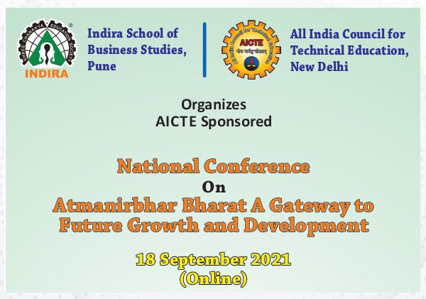 National Conference On Atmanirbhar Bharat A Gateway to Future Growth and Development
